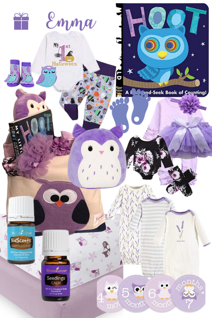 purple baby gift ideas
