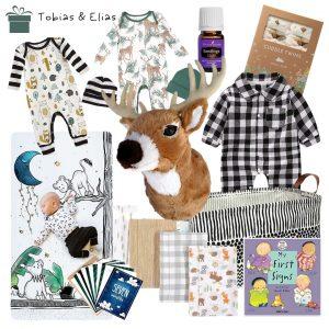 woodland baby shower gift basket tips inspiration diyshowoff